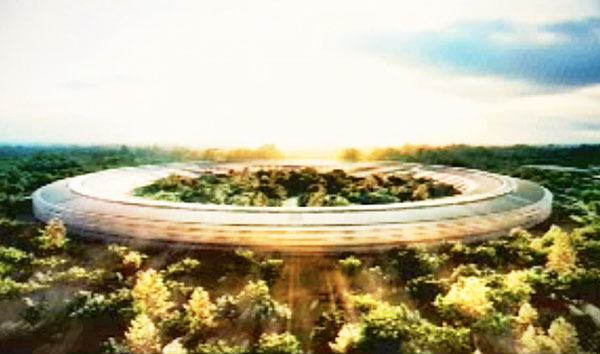 Apple's New Hi-Tech Headquarters