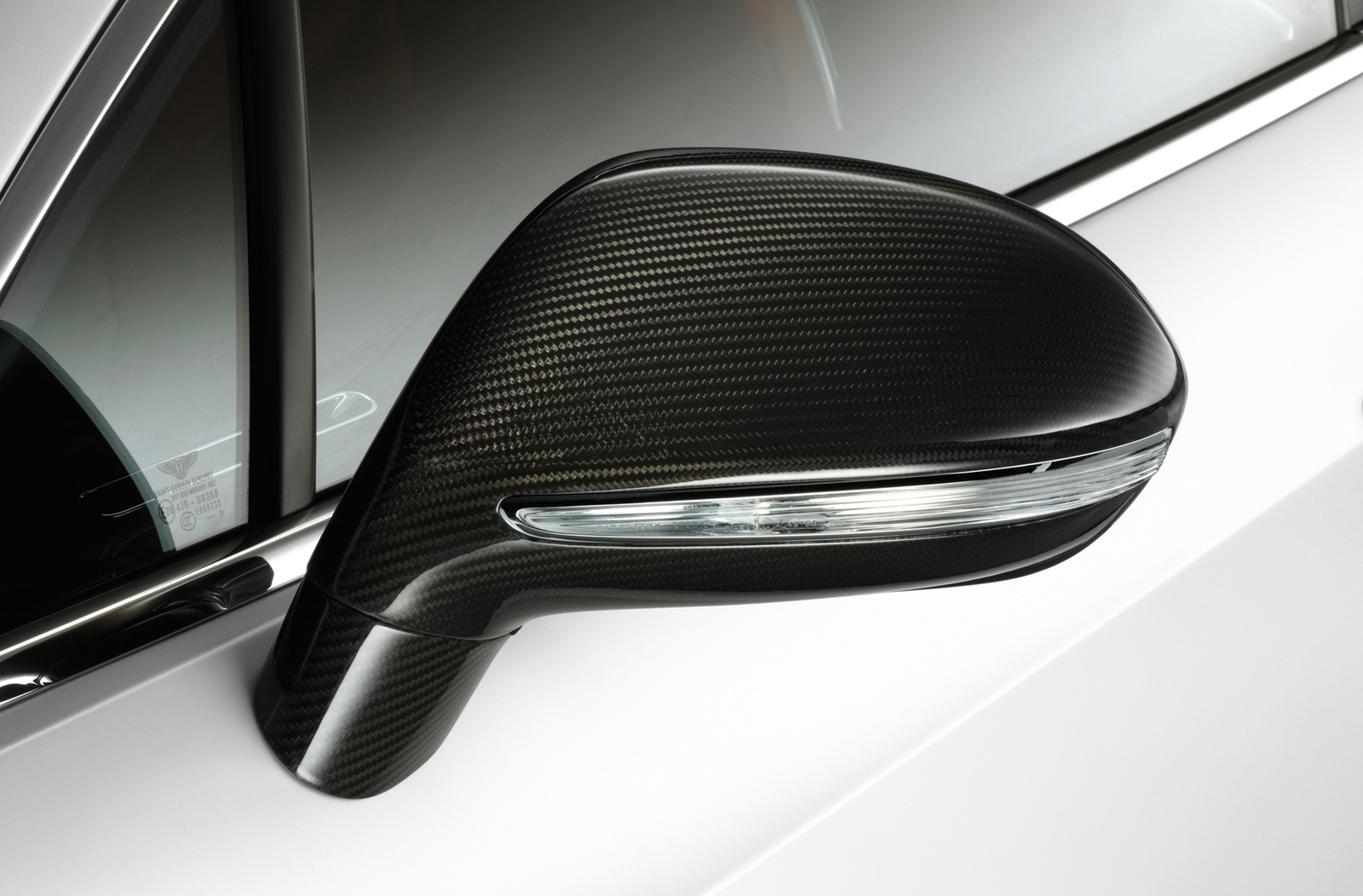 Stylish Carbon Fibre Door Mirror Cowls Available as Option