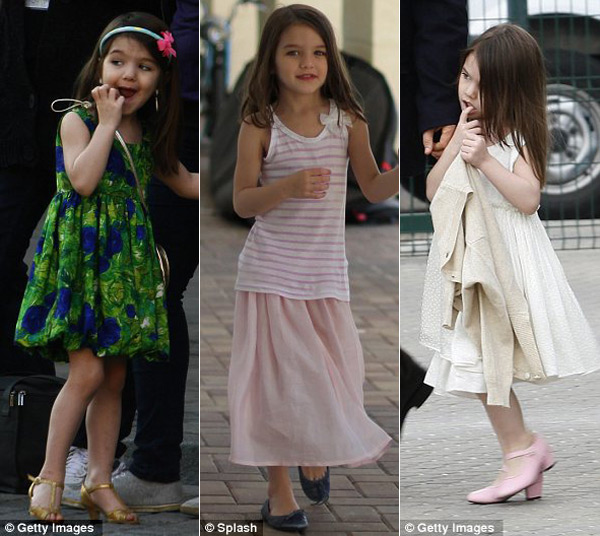 Suri Cruise's $150,000 Shoe Collection