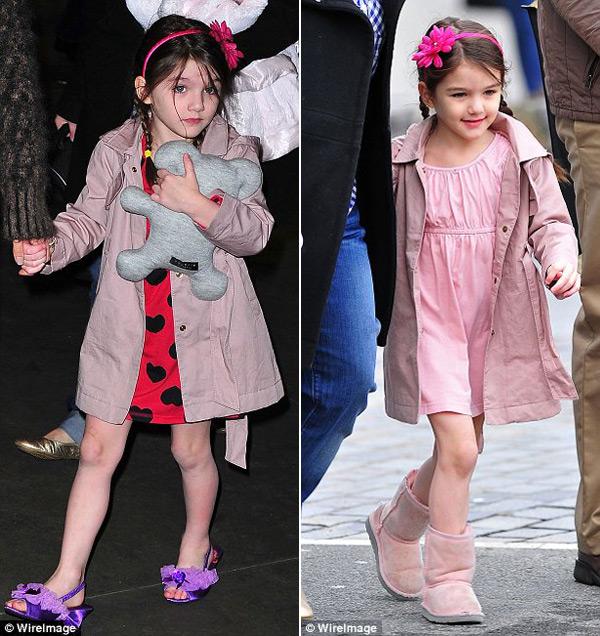 Suri Cruise&#8217;s $150,000 Shoe Collection