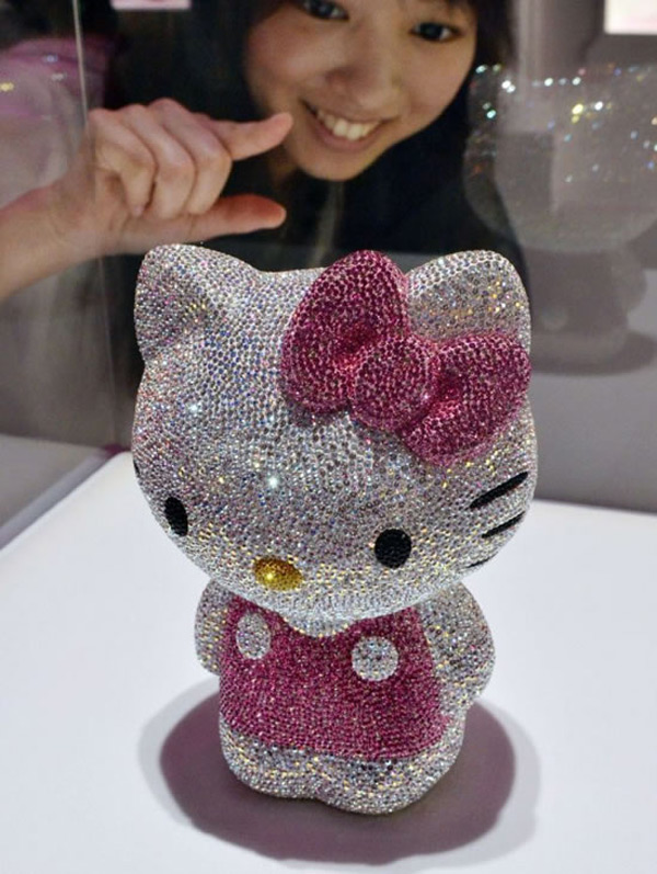 Swarovski-studded Hello Kitty
