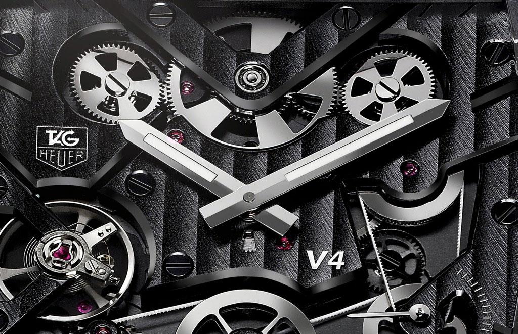 Limited Edition TAG Heuer Monaco V4 Titanium