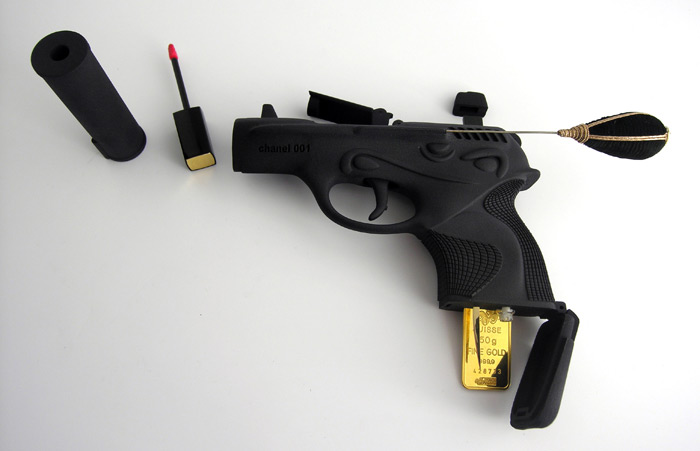 Ted Noten Gun Makeup Kit