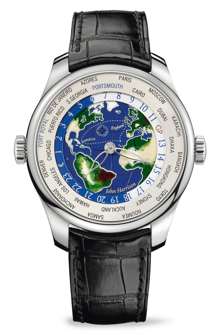 The Girard-Perregaux ww.tc Enamel John Harrison Watch