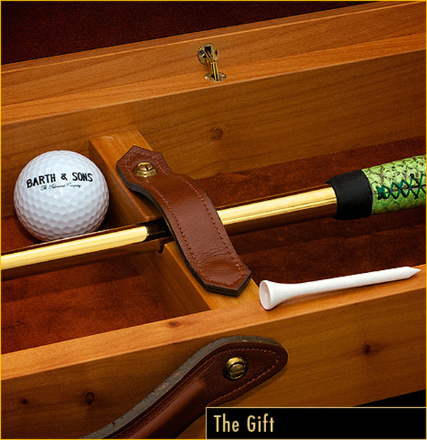 The Golden Putter - Gift