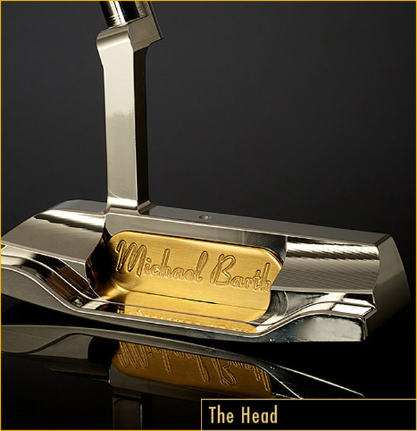 The Golden Putter - Head
