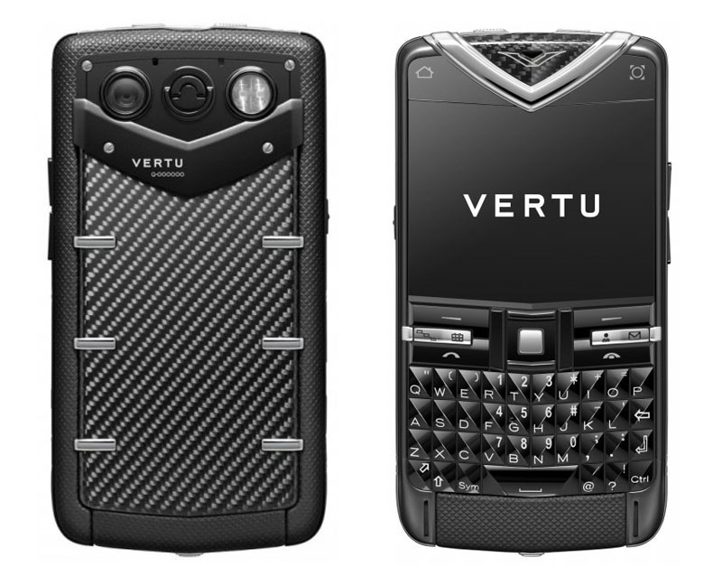 Vertu Constellation Quest Carbon Fibre Stainless Steel