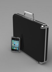 iPhone Case with Hagardzon's Carbon-fibre Laptop Case