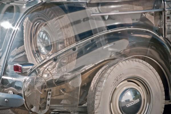 1939 Pontiac Plexiglas Deluxe Six Ghost Car