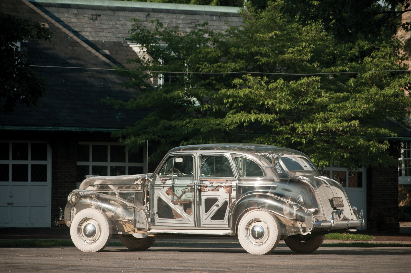 1939 Pontiac Plexiglas Deluxe Six Ghost Car Auctioned For