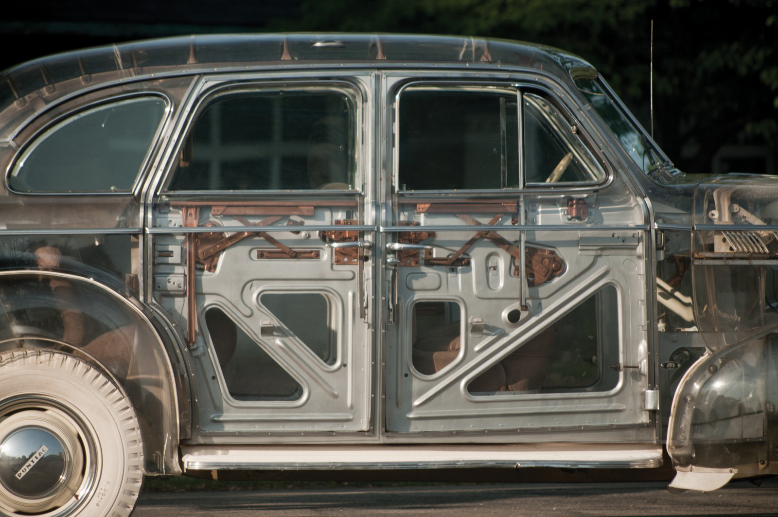 1939 Pontiac Plexiglas Deluxe Six Ghost Car Auctioned for $308,000