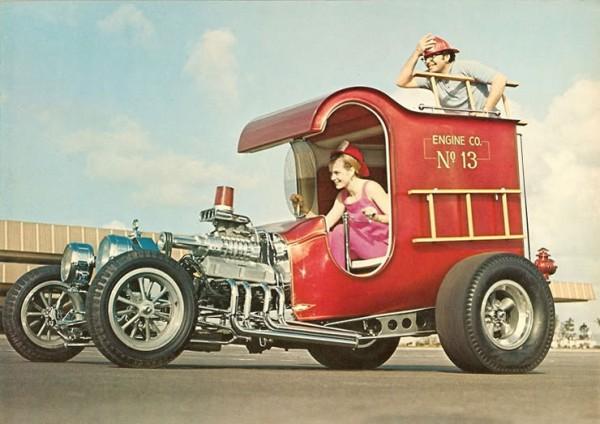 1967 Ford C-Cab Fire Truck - extravaganzi.com