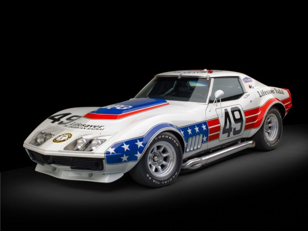 1969 Chevrolet BFG Stars & Stripes Racing Corvette to be Auctioned at RM Auctions Monterey Sale