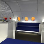 A380 Celestial Bar By Korean Air and Absolut