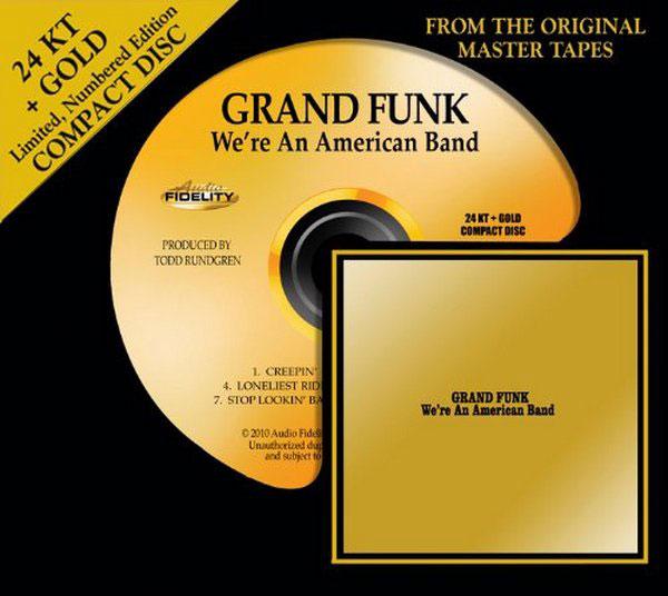 Audio Fidelity's 24K Gold CDs