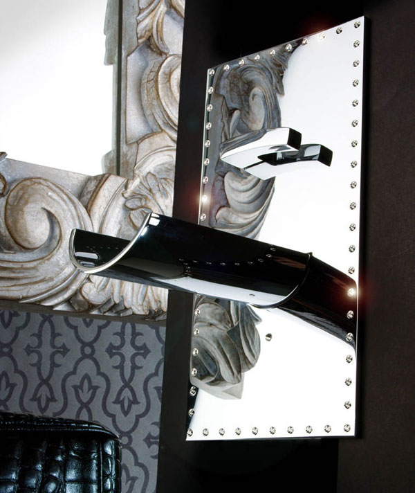 Bongio's Acquaviva Swarovski Faucet Brighten Up Your Bathroom