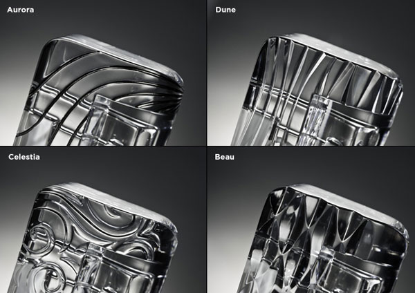 CrystalDock, the world's first luxury accessory for the iPhone handcrafted from pure crystal glass