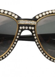 Cartier Gold and Diamond Sunglasses