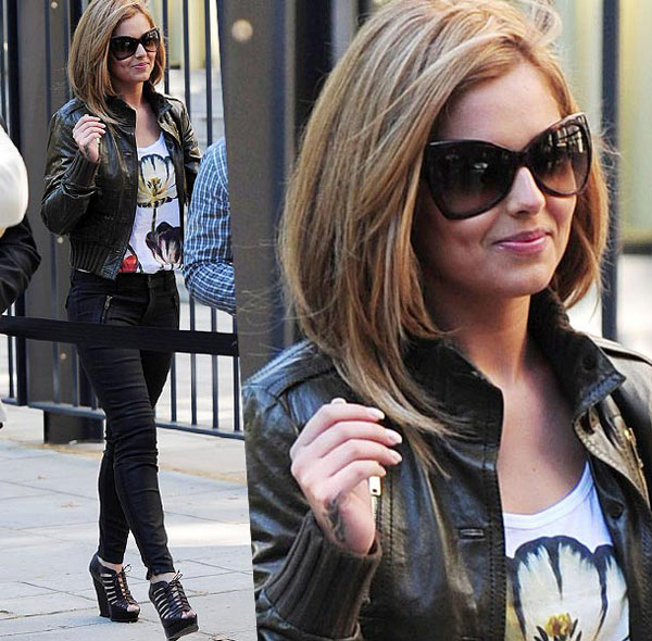 Cheryl Cole has gone blonde for their 28th Birthday