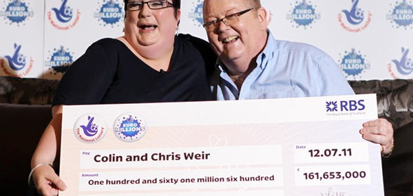 Colin and Chris Weir, Euromillions Lottery Winners