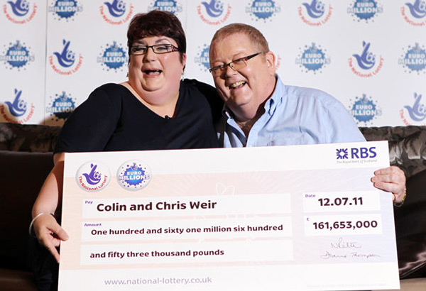 £161 Million Euromillions Lottery Winner Claim their Prize