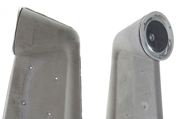 Concrete Speakers by Shmuel Linski