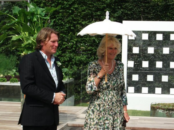 David Domoney and Duchess of Cornwall, Camilla Parker