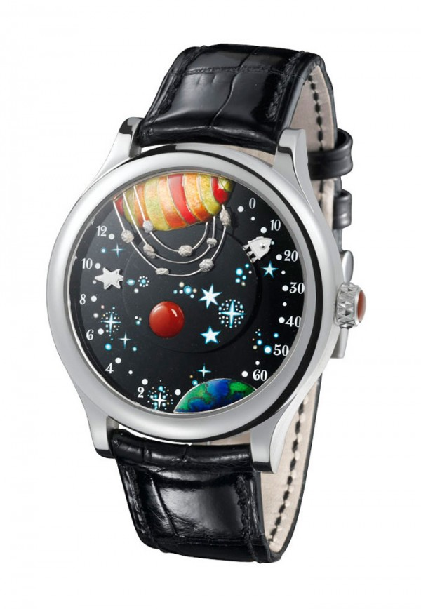 From The Earth To The Moon Watch By Van Cleef & Arpels