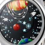 From The Earth To The Moon Watch By Van Cleef & Arpels For Only Watch 2011