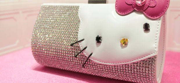 Hello Kitty Swarovski Clutch Bag