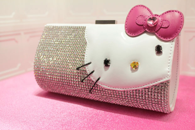 Hello Kitty Swarovski Clutch Bag