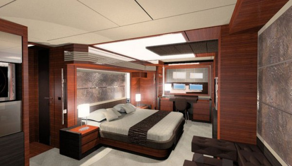 Stuart Hughes Presents The World's Most Luxurious & Expensive Yacht With 100,000 kg of Gold - www.extravaganzi.com