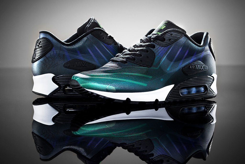 Nike Hurley Air Max 90 Sneakers from Hurley Phantom 4D Capsule Collection