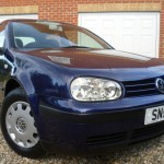 Kate Middleton's Blue VW Golf on EBay