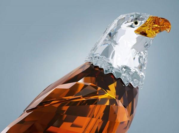 Limited Edition 2011 Bald Eagle Sculpture by Swaorvski