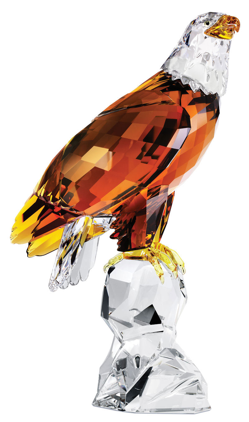 Limited Edition 2011 Bald Eagle Sculpture by Swarovski