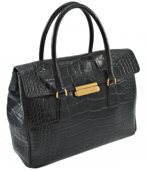 Limited Edition Prada Crocodile Skin Bag