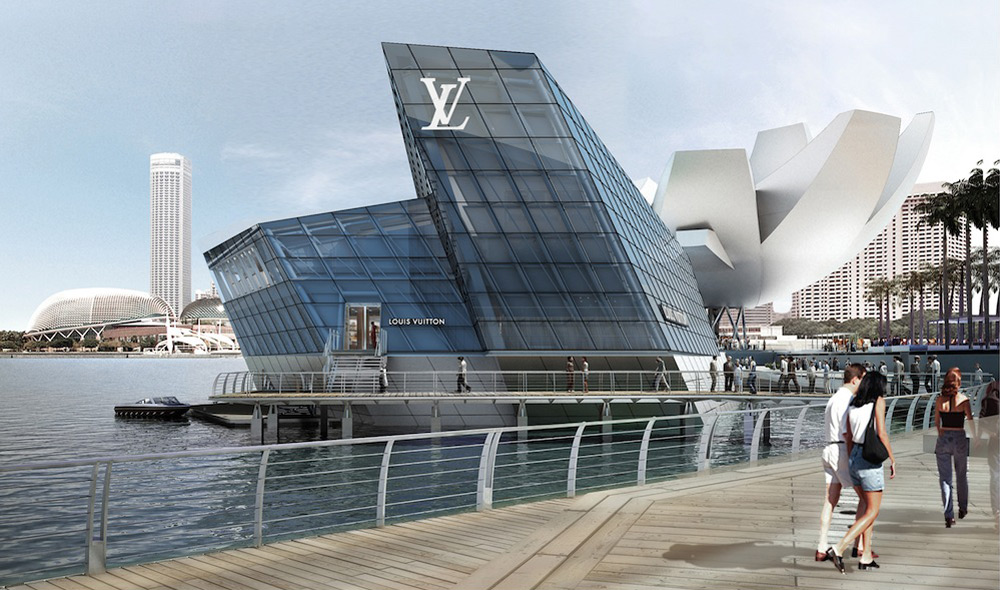 Louis Vuitton Island Maison At Marina Bay Sands