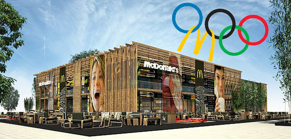 McDonald's at the Olympic Park in London