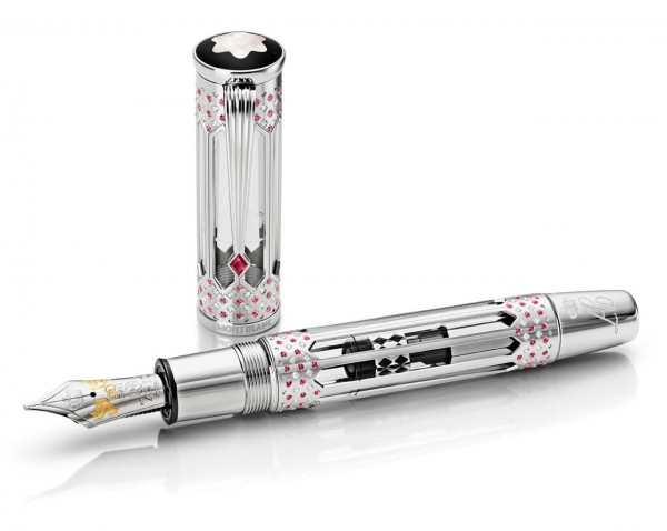 Montblanc Wedding Pen for H.S.H. Prince Albert II of Monaco and Charlene Wittstock