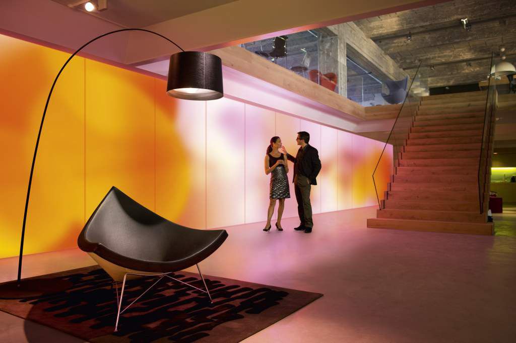 philips led illuminated wallpapers for good mood