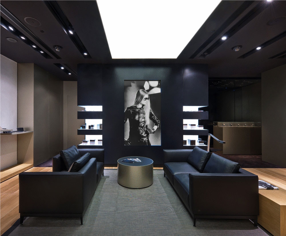 Porsche Design Store in The Shoppes at Marina Bay Sands