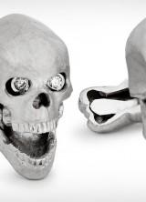 Ralph Lauren's Skull Cufflinks For Daring Gentlemen