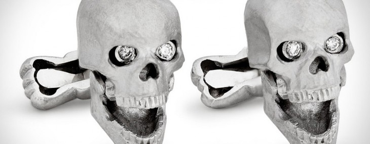 Ralph Lauren's Skull Cufflinks For Daring Gentlemen