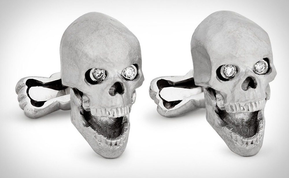 Ralph Lauren&#8217;s Skull Cufflinks For Daring Gentlemen
