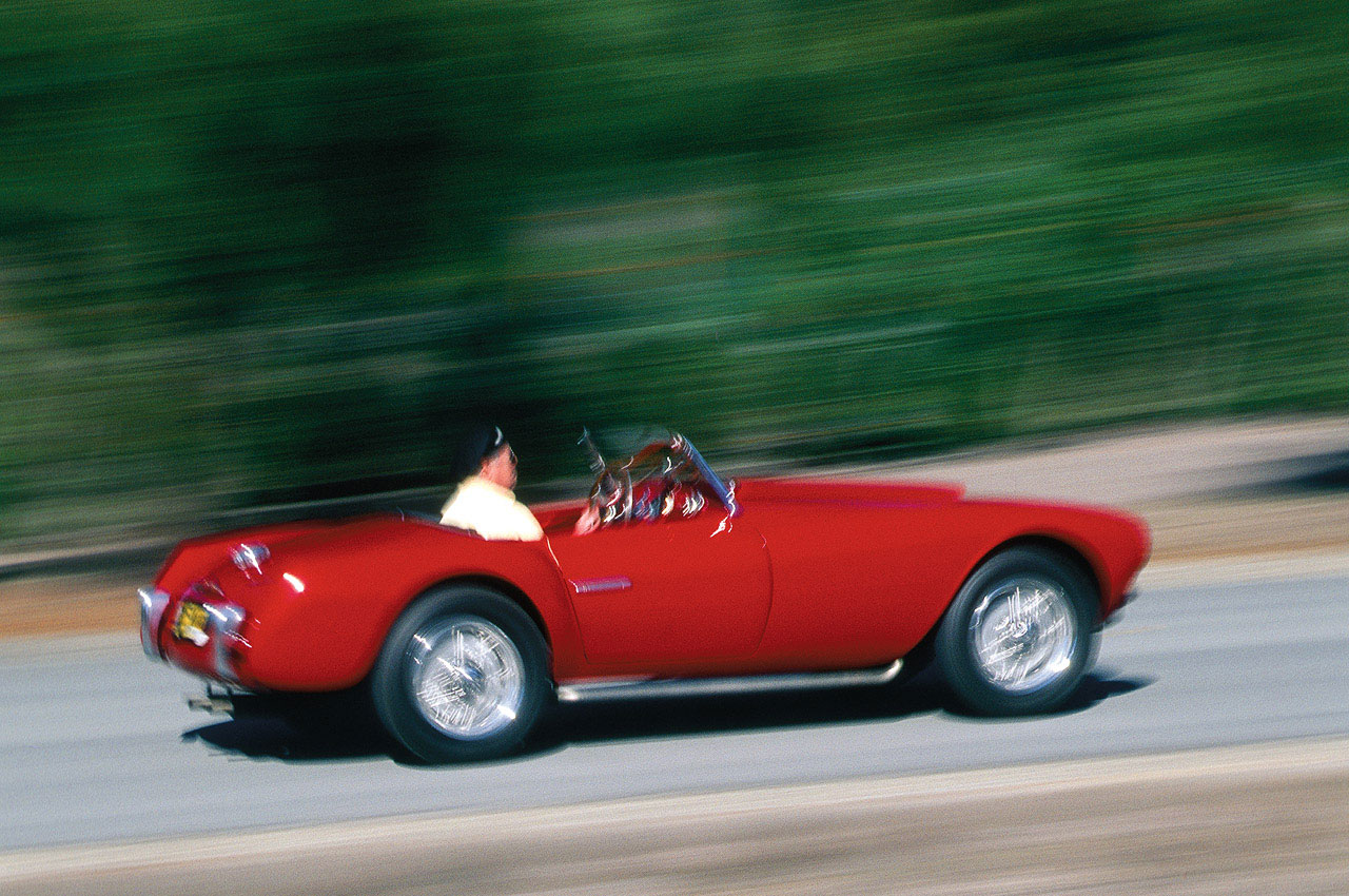 Steve McQueen's 1953 Siata 208/S Spider Set for Monterey auction