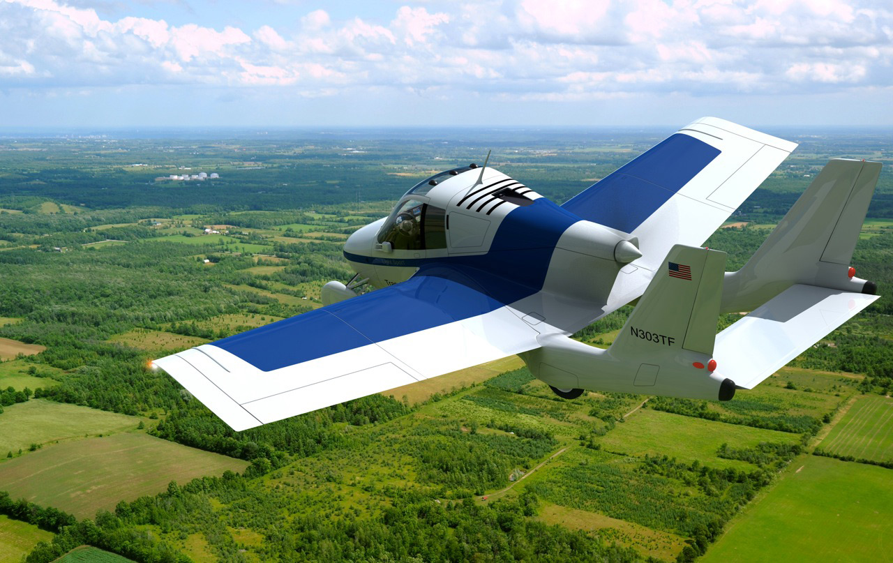 The Transition – Terrafugia Flying Car