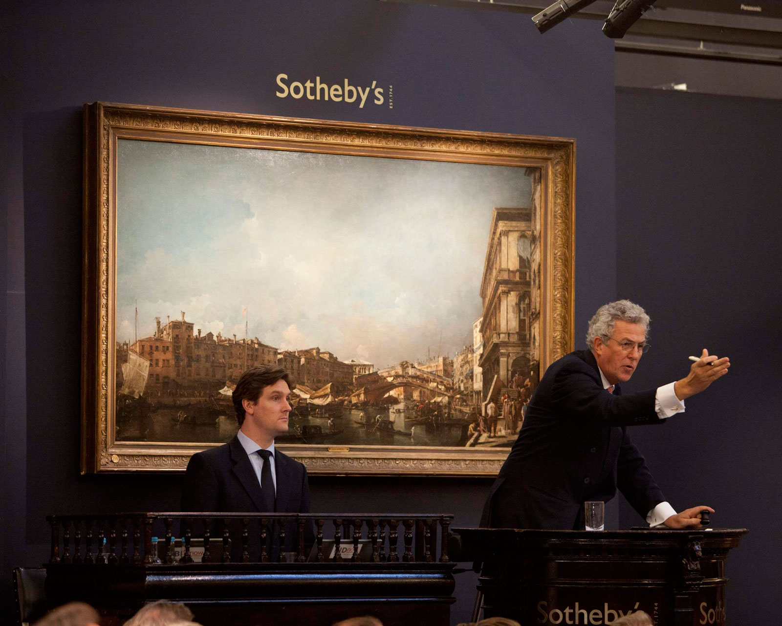 Sothebys Set an Auction Record for Venetian View Painting