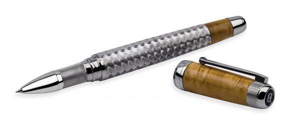 Tibaldi for Bentley Mulsanne: Burr Oak Sterling Silver Roller