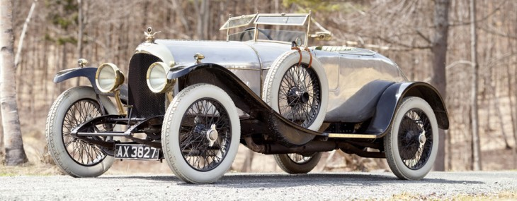 1921 Bentley 3 litre Chassis Number 3